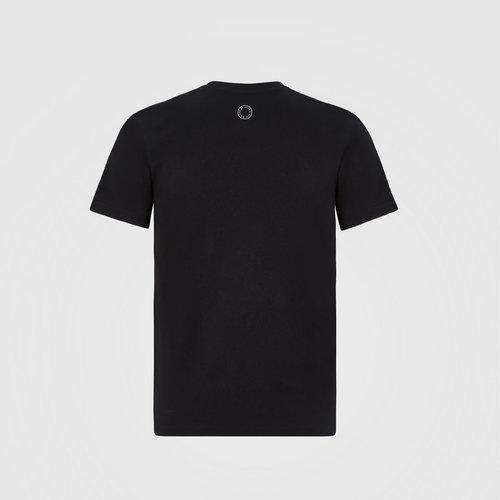 Mercedes Mercedes kids large logo t-shirt zwart