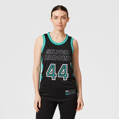 Mercedes Mercedes Lewis Hamilton #44 Basketball Shirt