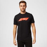 F1 Large Logo T-Shirt Zwart
