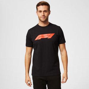 Formule 1 F1 Large Logo T-Shirt Zwart