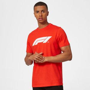 Formule 1 F1 Large Logo T-Shirt Rood XL