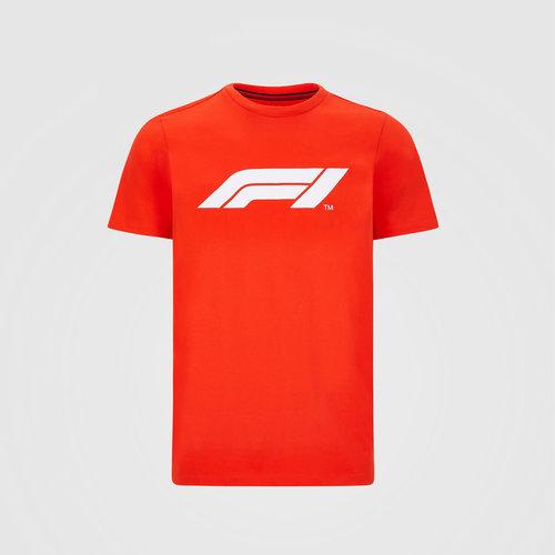 Formule 1 F1 Large Logo T-Shirt Rood