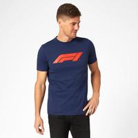 F1 Large Logo T-Shirt Blauw