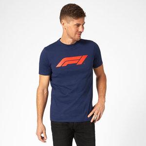 Formule 1 F1 Large Logo T-Shirt Blauw