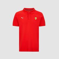 Ferrari Classic Polo Rood