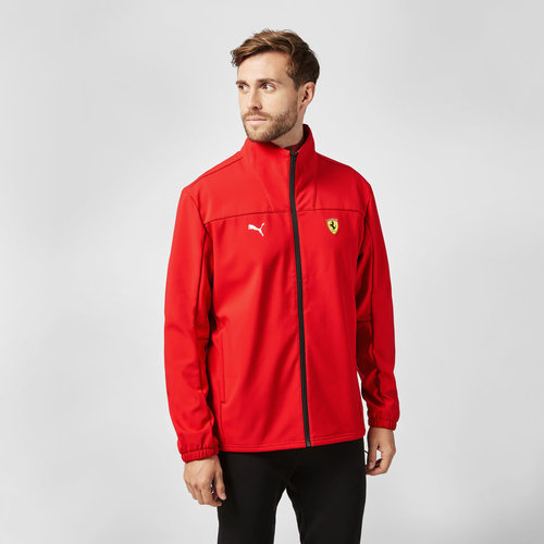 Ferrari Ferrari Classic Softshell Jacket 2021 Rood