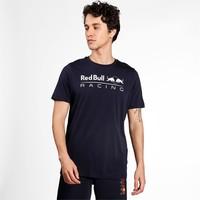 Red Bull Racing Logo T-shirt Puma Blauw