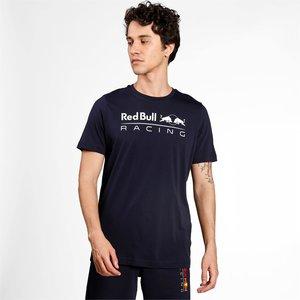 Red Bull Racing Red Bull Racing Logo T-shirt Puma Blauw
