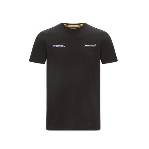 MCLaren MCLaren Ricciardo No3 T-shirt Zwart