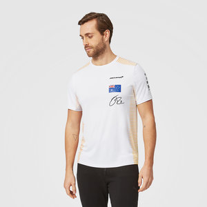 MCLaren MCLaren Ricciardo T-shirt Wit