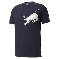Red Bull Racing T-shirt White Bull Blauw 2021