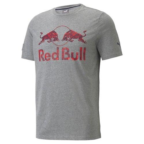 Red Bull Racing Double Bull T-shirt Grijs / Rood 2021