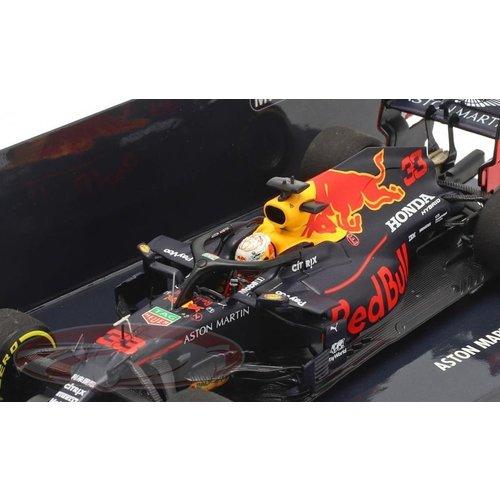 Red Bull Racing Spark RB16 Schaalmodel  Winner 70th GP Amniversary 2020