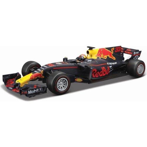 Red Bull Racing Bburago Red Bull Racing RB13 Renault #33 Max Verstappen 2017 1:18 blauw/rood/geel