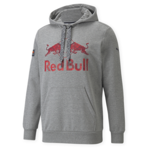 Red Bull Racing Double Bull Hoody Grijs 2021