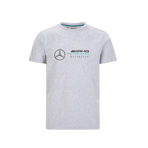 Mercedes Mercedes Logo Shirt Grijs
