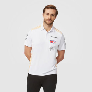 MCLaren McLaren Lando Norris Team Polo 2021 Wit