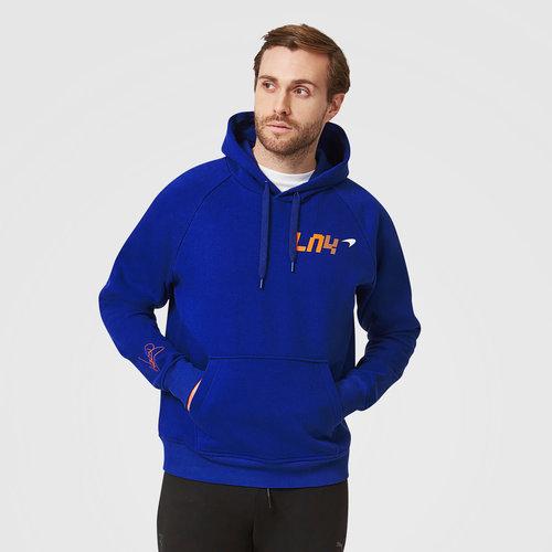 McLaren Hoody LN4 Blauw Lando Norris