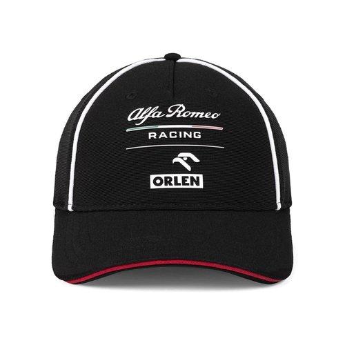 Alfa Romeo Alfa Romeo Orlen Curved-Brim Team Black CAP