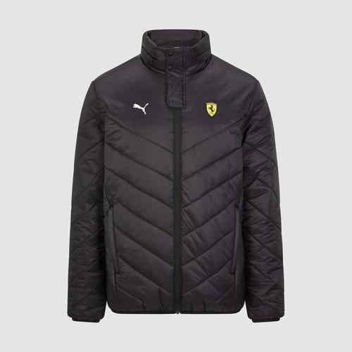 Ferrari Padded Jas Zwart