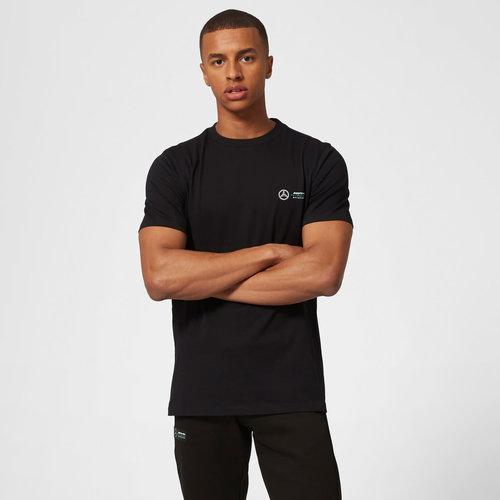 Mercedes Small Logo T-shirt Zwart