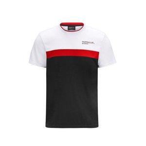 Porsche Porsche T-shirt Rood Wit Zwart