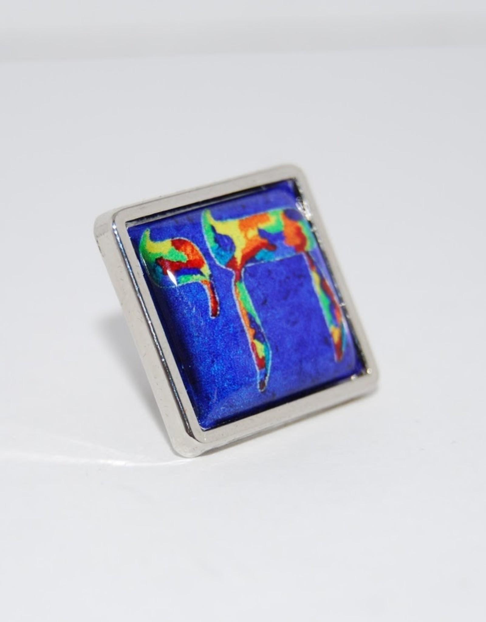 Chaipainter Chai Pin brooch
