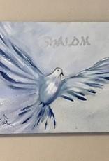 Shaloom in blauw en zilver