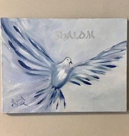 Chaipainter Shalom schilderij