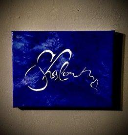 Shalom schilderij