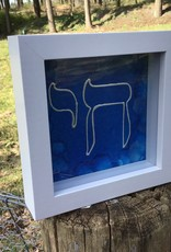 Chaipainter Chai on a cobalt blue background.