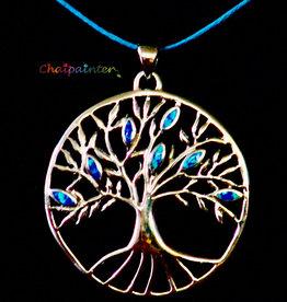 Zilveren Levensboom symbool voor leven