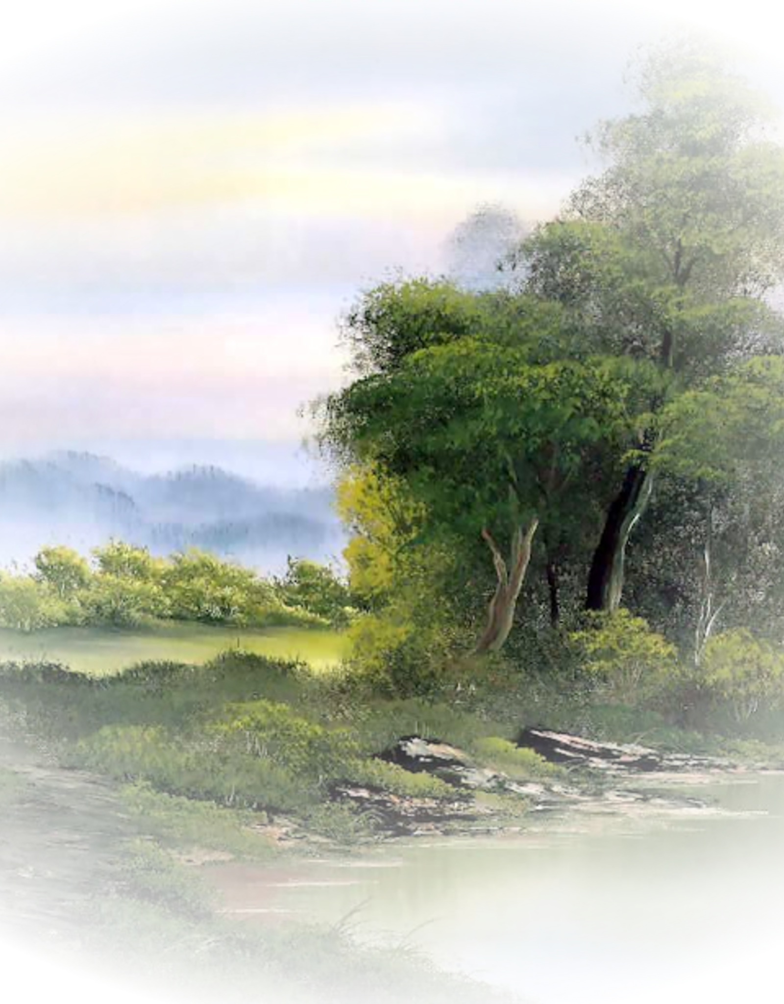 Bob Ross painting class in four hours