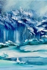 Bob Ross painting workshop in one day