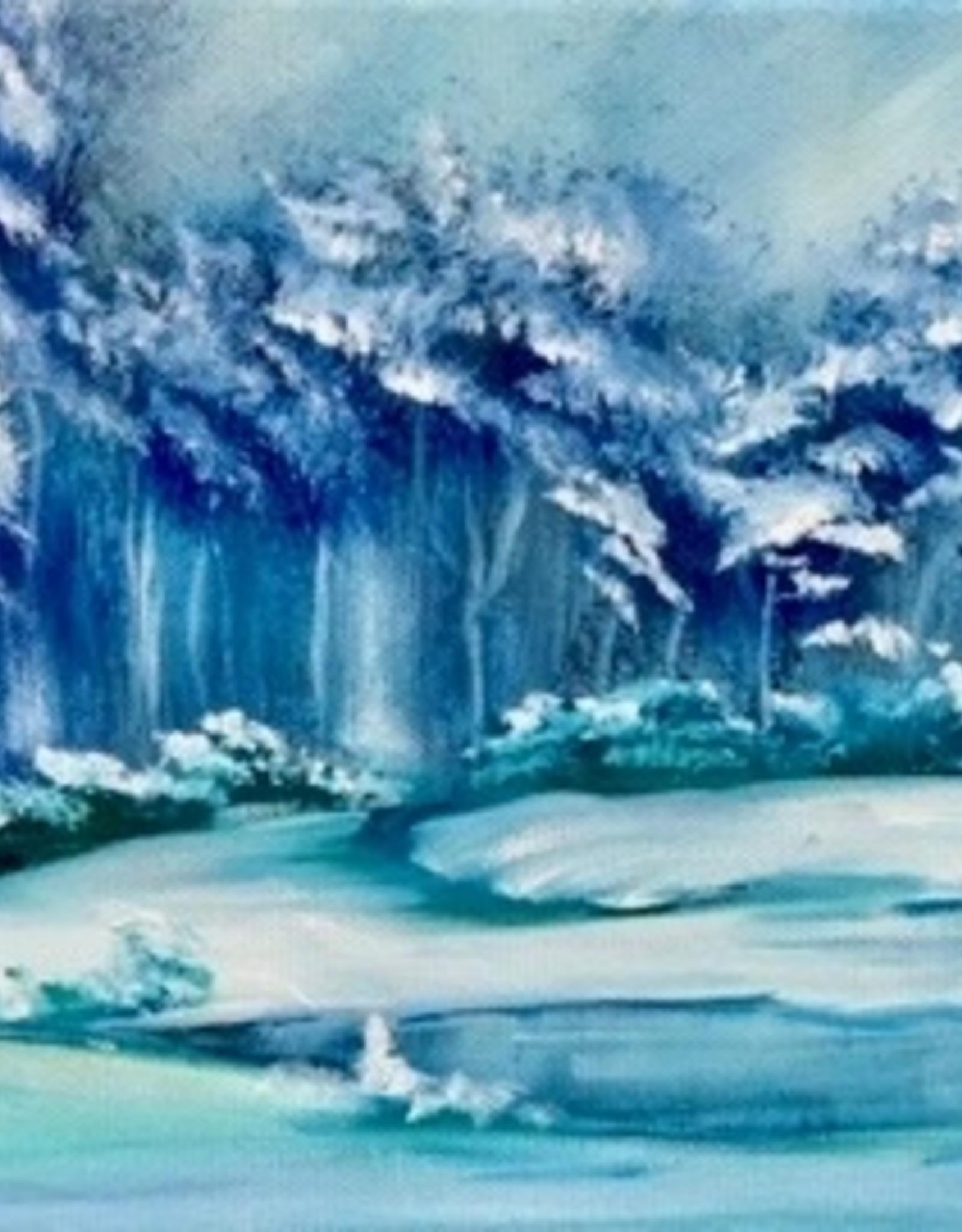 Bob Ross schilderworkshop in één dag