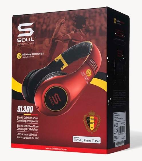 Soul by Ludacris SL300 hoofdtelefoon Red Devil Edition