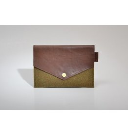 P.A.P. Majvallen iPad Mini cover Moss/Brown