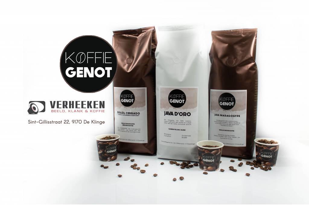 Koffiegenot Koffiegenot 3 kgr proef pack