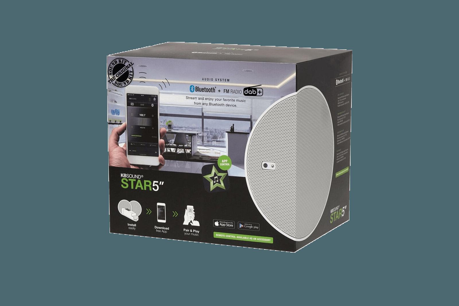 "KB Sound KB SOUND STAR 5"" DAB+/FM/Bluetooth"