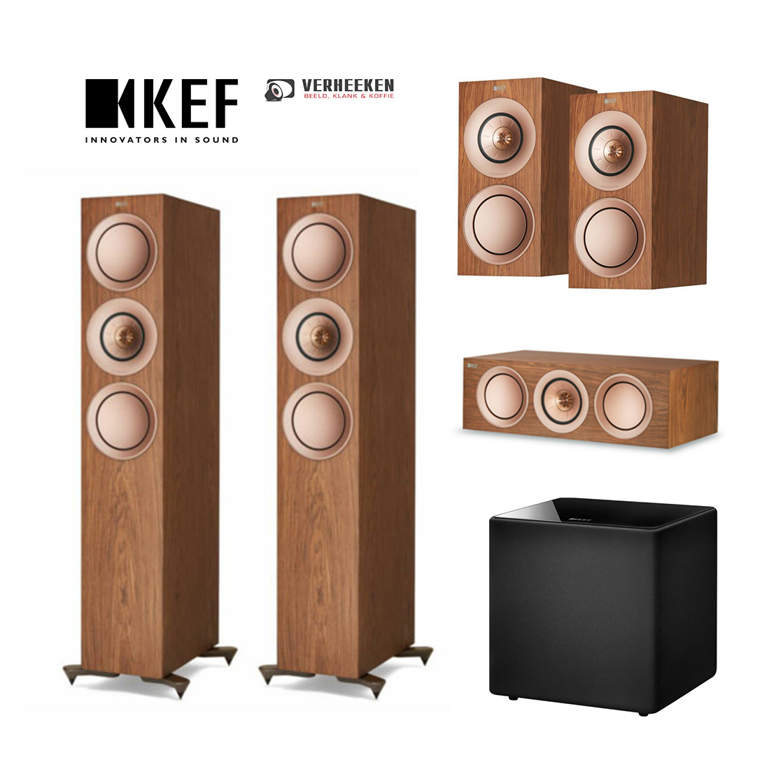 KEF Kef R surround 5.1