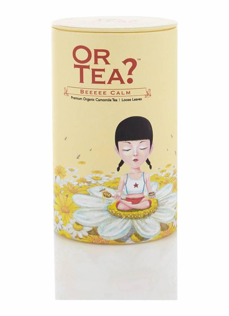 Or Tea? Beeeee Calm losse thee in blik