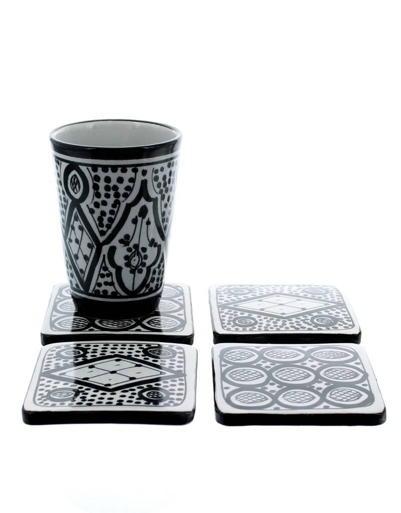 Gobelet En Céramique Noir Et Blanc 8wnOPk0X