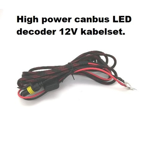 styleparts H7 super Canbus decoder set complete with External 12V control.