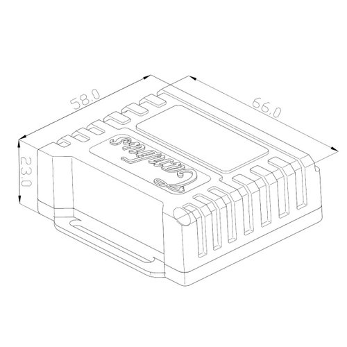 styleparts H4 super Canbus decoder set complete with External 12V control.