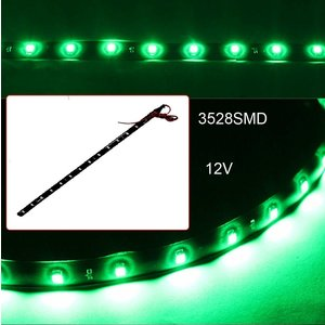 12V 30CM LED strip green