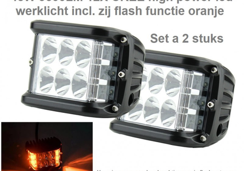 LED Breed- en Verstralers