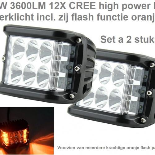 LED Breed- en Verstralers