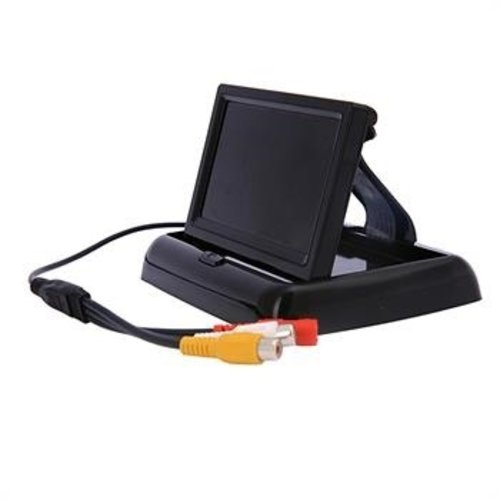 Combination package: Foldable 4.3 inch TFT LCD color screen incl. Camera lens.