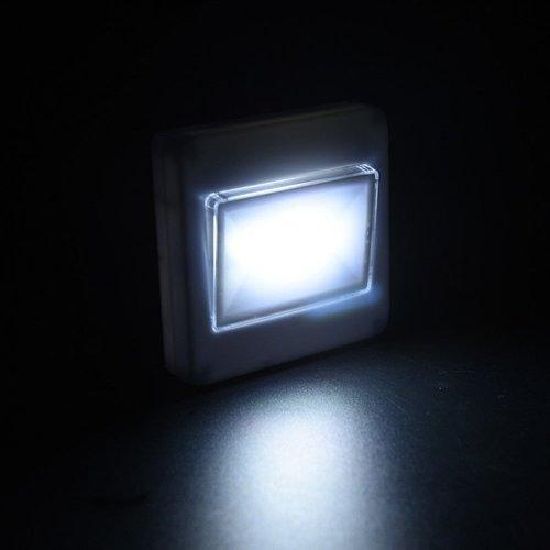 Universeel COB LED licht unit wandmontage op batterij
