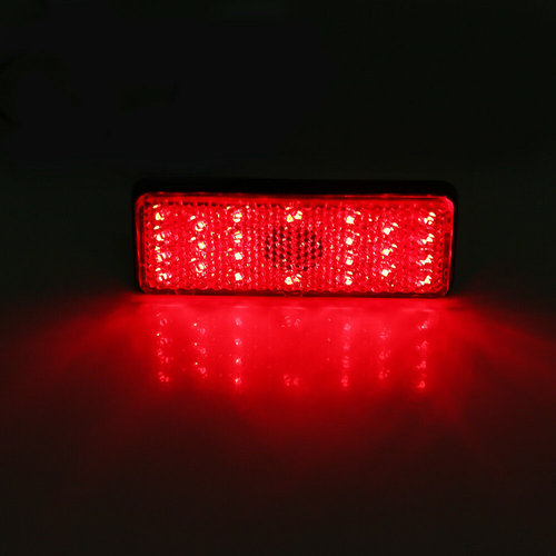 LED Rear light unit (Light / brake light function) for moped, scooter, motorcycle, etc.